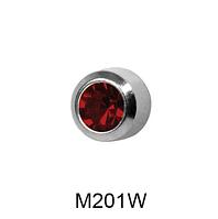 Завальцованные (гранат) 2мм M201W(без покрытия)