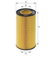 Фильтр масляный вставка DAF XF 105 MANN HU12103X