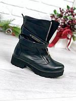 Ботинки женские Moschino Зима