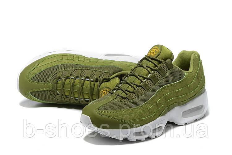 Мужские кроссовки NIKE AIR MAX 95 (Green/White)