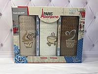 Подарочный набор кухонных полотенец Paris Bonjorno № 32480