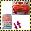 Беруші багаторазові Starline зі шнуром ОПТом (SNR 31дБ). Min замовлення 10 пар.