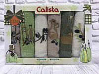 Подарочный набор кухонных полотенец Calista № 32483