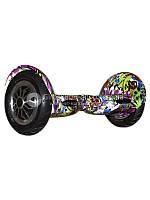 Гироскутер Smart Balance Wheel Suv 10 Граффити фиолетовый (+Mobile APP)