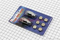 Колпачек нипеля мигаюший на батарейках 2 штуки