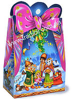 Картонная Рождественская подарочная упаковка до 700г