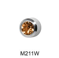 Завальцованные (топаз) 2мм M211W(без покрытия)