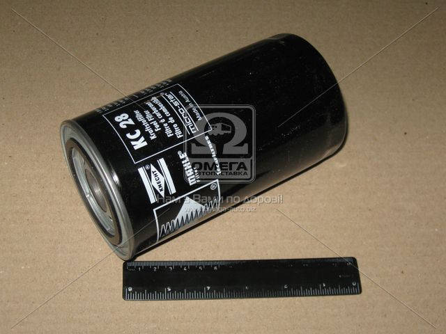 Фильтр топливный (TRUCK) (Производство Knecht-Mahle) KC28, ABHZX