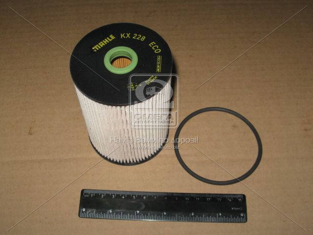 Фильтр топливный (сменный элемент) (Производство Knecht-Mahle) KX228D, ADHZX