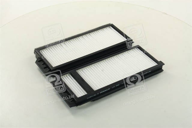 Фильтр салона (комплект 2 штуки ) (Производство Knecht-Mahle) LA346/S