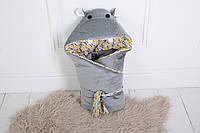 Плед для новорожденного на выписку Бегимотик Мота-Мота, фото 1