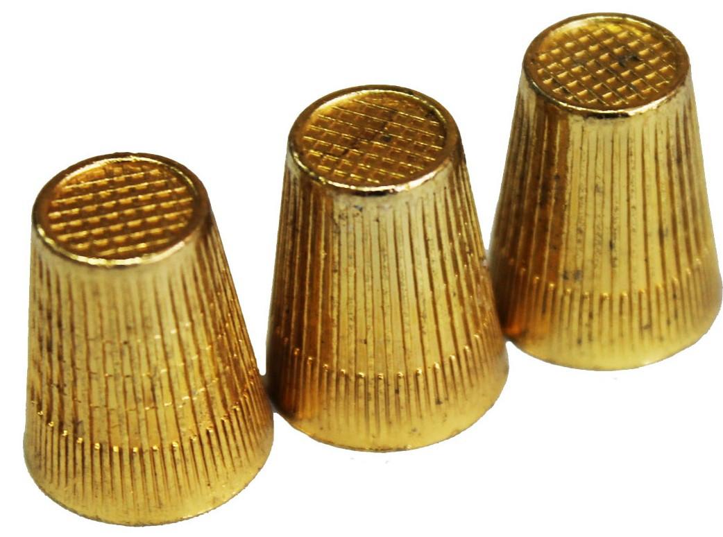Наперстки (№10 Латунные) для ручного шитья