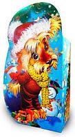 Новогодняя картонная упаковка в год Собаки до 600г