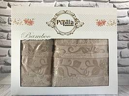 Подарочный набор полотенец Pupilla (баня+лицо) № 32498