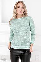 Мягкий вязаный свитер Gepur 18159