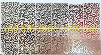 Фольгированный слайдер дизайн №14 - золото