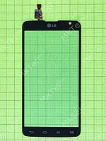 Сенсор LG G Pro Lite Dual D686 Копия АА Черный