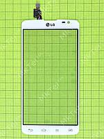 Сенсор LG G Pro Lite Dual D686 Копия АА Белый