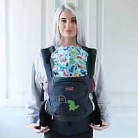 Эрго рюкзак Love & Carry AIR — ВЕСЕЛЫЙ ДИНО бесплатная доставка новой почтой, фото 1