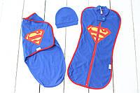 Комплект коконов набор - Супермен, 0-3 мес, фото 1
