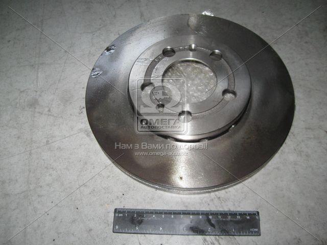 Диск тормозной AUDI/SEAT/SKODA/Volkswagen A3/OCTAVIA/GOLF/POLO передн. вент. (производство ABS) (арт. 16880), ADHZX
