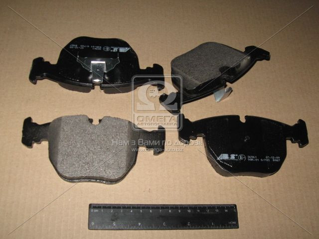 Колодка тормозная BMW 5 ser./7 ser./X5 передн. (производство ABS) (арт. 36961), AEHZX