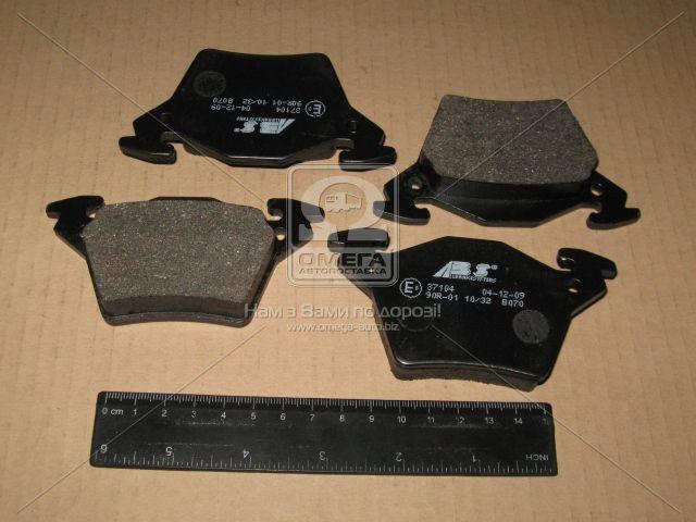 Колодка тормозная MB VITO задн. (производство ABS) (арт. 37104), ACHZX