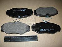Колодка тормозная NISSAN/OPEL/RENAULT PRIMASTAR/VIVARO/TRAFIC передн. (производство ABS) (арт. 37287), ADHZX