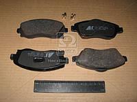 Колодка тормозная OPEL CORSA/MERIVA/TIGRA передн. (производство ABS) (арт. 37213), ACHZX