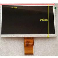 "H-B07012FPC-BF1  Дисплей для планшета 7"" 164x103 50pin dpi800x480"