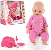 "Кукла-пупс Беби Борн ""Baby Born"" 8001, 9 функций, 9 аксессуаров, Baby 8001-1"