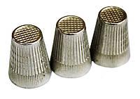 Наперстки (№10 Стальные) для ручного шитья, фото 1