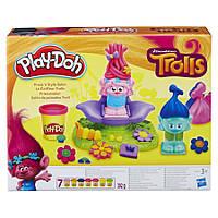 "Набор Play-Doh Dreamworks Trolls Press ´n Style Salon, салон парикмахерская троллей ""Выдави стиль "".Оригинал, фото 1"