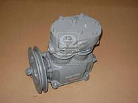 Компрессор 2-цилиндровый МАЗ, К-701, Т 150, КРАЗ повыш. производяного (со шкивом) (Производство БЗА)