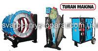 Сварочный аппарат Turan Makina AL 1000 сварки пластиковых труб. Стыковая сварка полиэтиленовых труб пнд пэ пвх