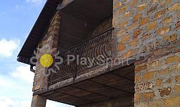 металлическое ограждение для балкона