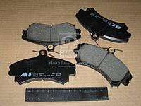 Колодка тормозной MITSUBISHI/VOLVO SPACE/S40/V40 передний (Производство ABS) 36919