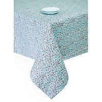 Скатерть Цветы-Тифани 180х140 см