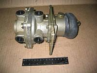 Кран тормозной 2-секционный (производство ПААЗ) (арт. 100.3514008), AGHZX