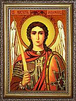 Икона Архангела Михаила из янтаря