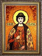 Ігор ікона з бурштину