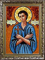 Ікона Івана з бурштину