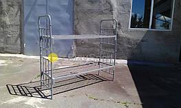 металлическая кровать двухъярусная для общежитий, казарм