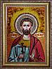 Икона Святого мученика Богдана из янтаря