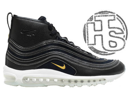 Мужские кроссовки Nike Air Max 97 Mid x RT Riccardo Tisci Black 913314-001, фото 2