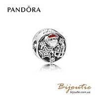 Pandora Шарм РОЖДЕСТВЕНСКИЕ ВЕСЕЛЬЯ #796364CZ серебро 925 Пандора оригинал