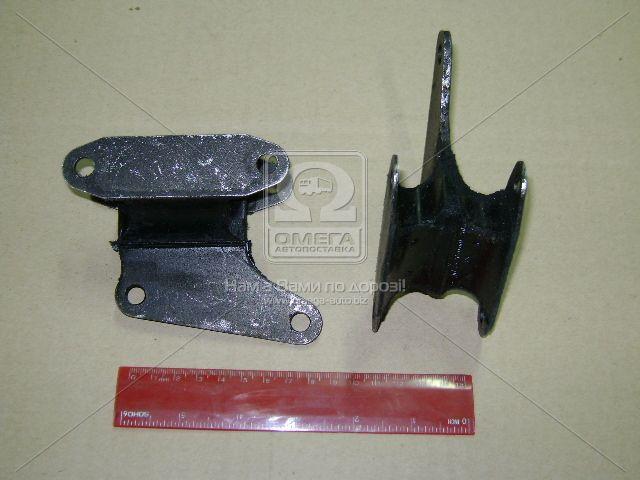 Подушка опоры двигателя ВАЗ (на 5-ти ступ. КПП) задняя (производство БРТ) (арт. 2107-1001045)