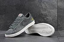 Мужские кроссовки Nike Supreme серые, фото 3