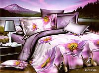 Двуспальный набор постельного белья 180*220 из Полиэстера №245 Черешенка™