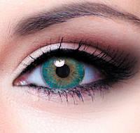 Цветные линзы для глаз Turquoise косметические купить по самым низким ценам в Украине.